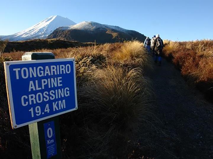 Tongariro Alpine Crossing start