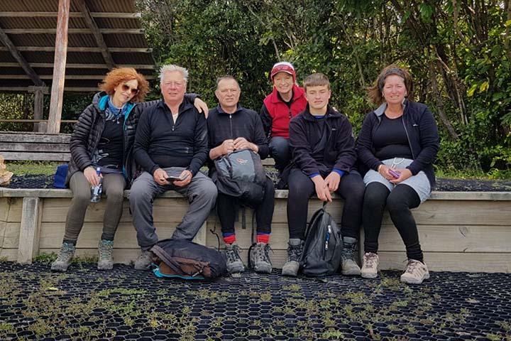 Tongariro crossing group
