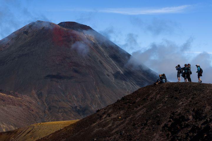 tongariro volcanic zone