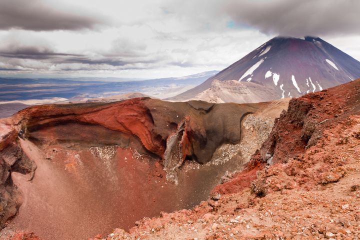 The history and geology of the Tongariro volcanic zone