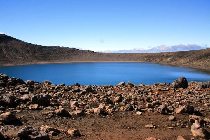 blue lakes tongariro