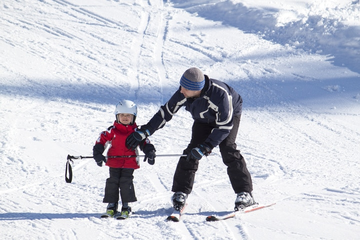 Experience Mt Ruapehu learn to ski programmes these school holidays