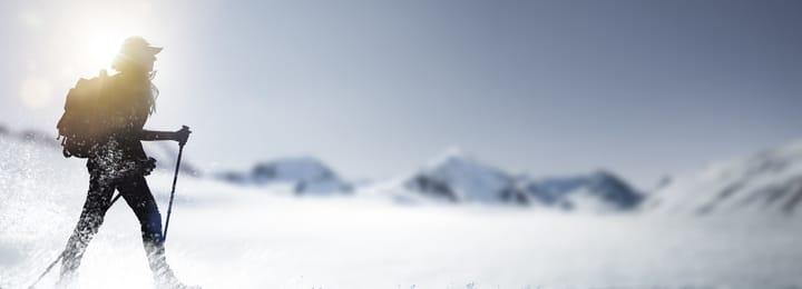 Tongariro Crossing in winter