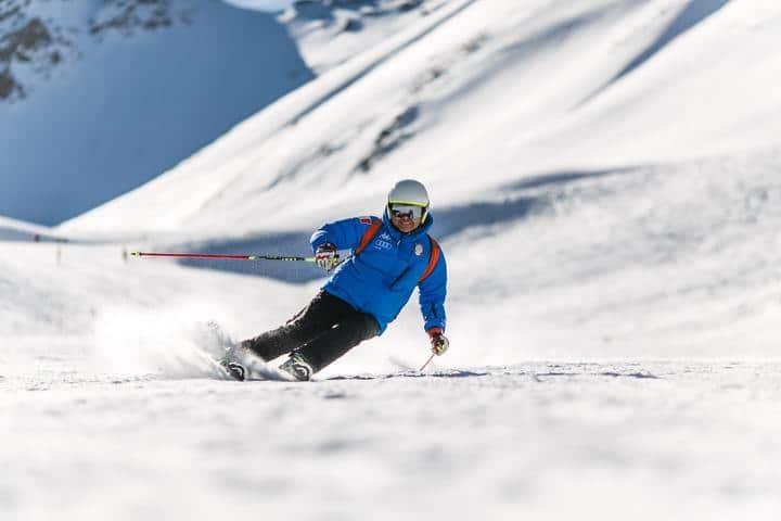 beginner ski area