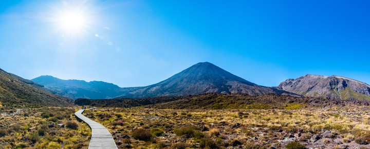 Why Tongariro National Park is a significant New Zealand landmark