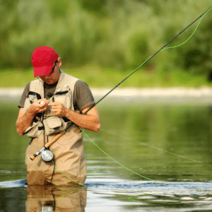 Conference activities fly-fishing