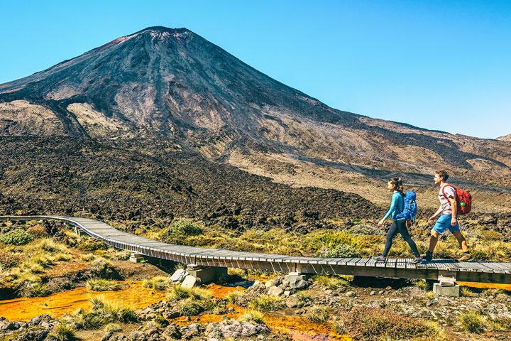 Tongariro Alpine Crossing activities conference facilities national park