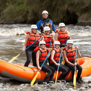 Conference activities rafting